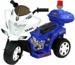 Kid Motorz Lil Patrol 6V, Blue and White