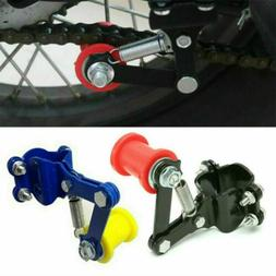 Outdoor Motorcycle Chain Tensioner Adjuster Roller Bike Chai