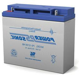 Power-Sonic 12V 18AH 51913 BMW K1200LT K1200RS AGM SLA Motor