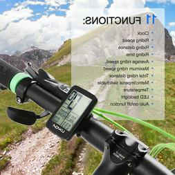 Rechargeable Wireless Bike Cycling Computer Bicycle Speedome