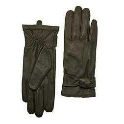 LANTINA Soft Women's Leather Gloves For Winter Warm Lambskin