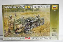 SOVIET M-72  with SIDECAR   WW2  1/35th  MODEL  MOTORCYCLE