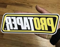 PRO TAPER STICKER Large  8inch CAR RACING PARTS Motorcycle D