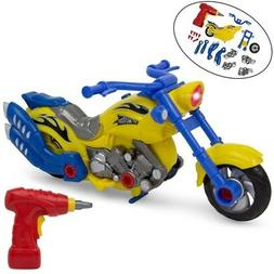 Take-A-Part Motorcycle Toy - Lights and Sounds - Power Drill