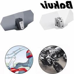 Universal Adjustable Airflow Windscreen Wind Deflector <font