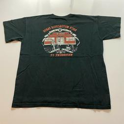 Vintage Docs Motorcycle Parts T-Shirt Size XL Black Bikers W