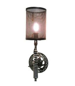Wall Mount Motorcycle Clutch Spring Sconce Light Fixture Ant