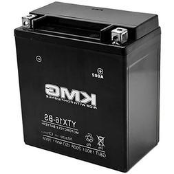 KMG YTX16-BS Sealed Maintenace Free 12V Battery High Perform