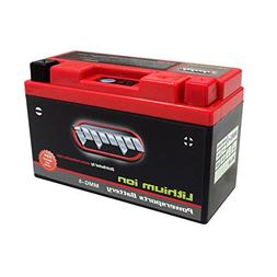 ytz14s lithium ion sealed motorcycle battery replaces